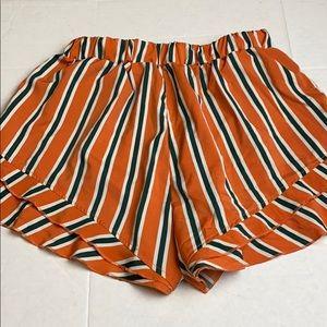 Zaful Elastic Medium Slip on Shorts